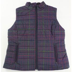 Ann Taylor Loft Puffer Vest Women's Medium